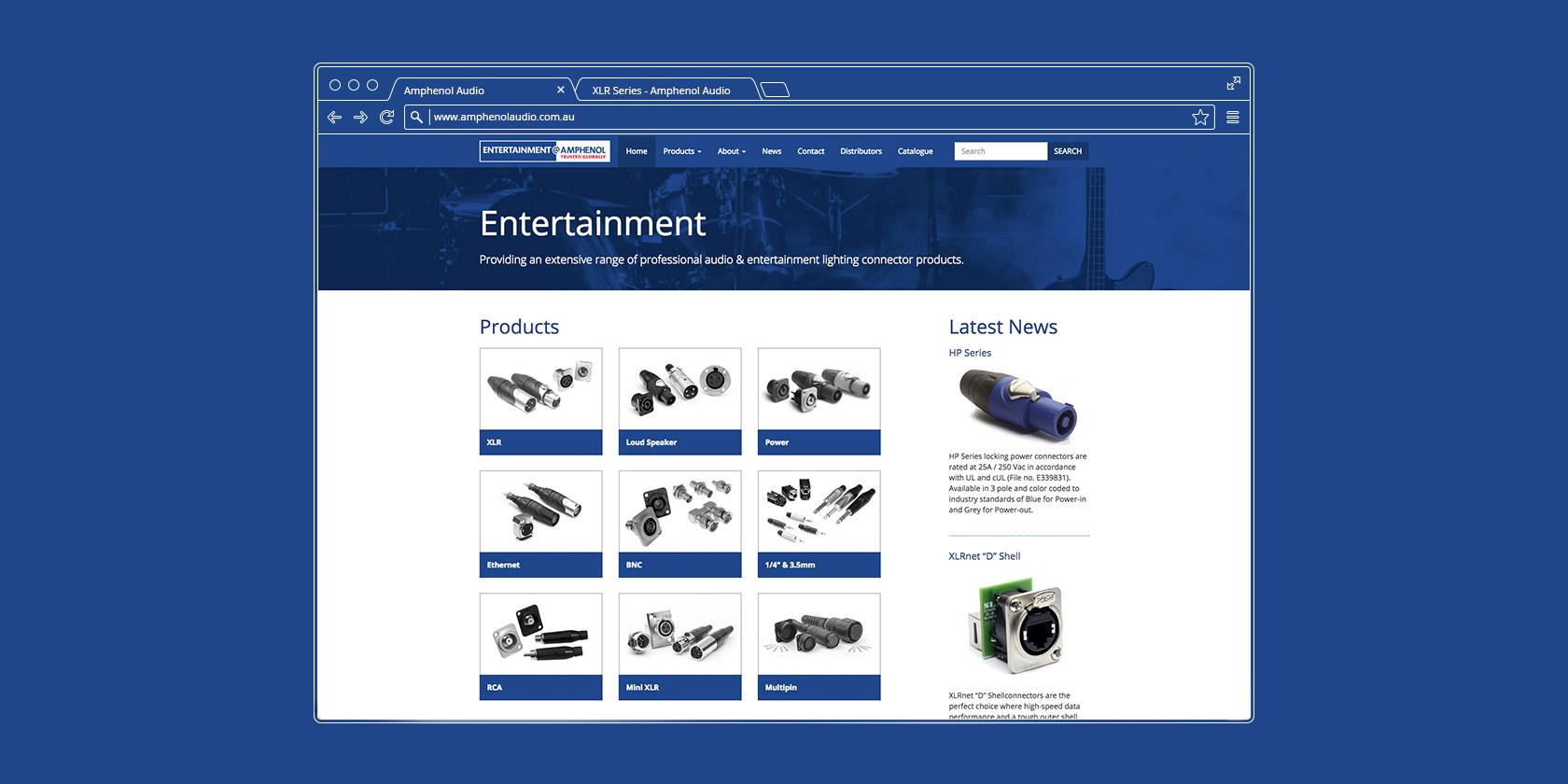 Amphenol Audio Website 0