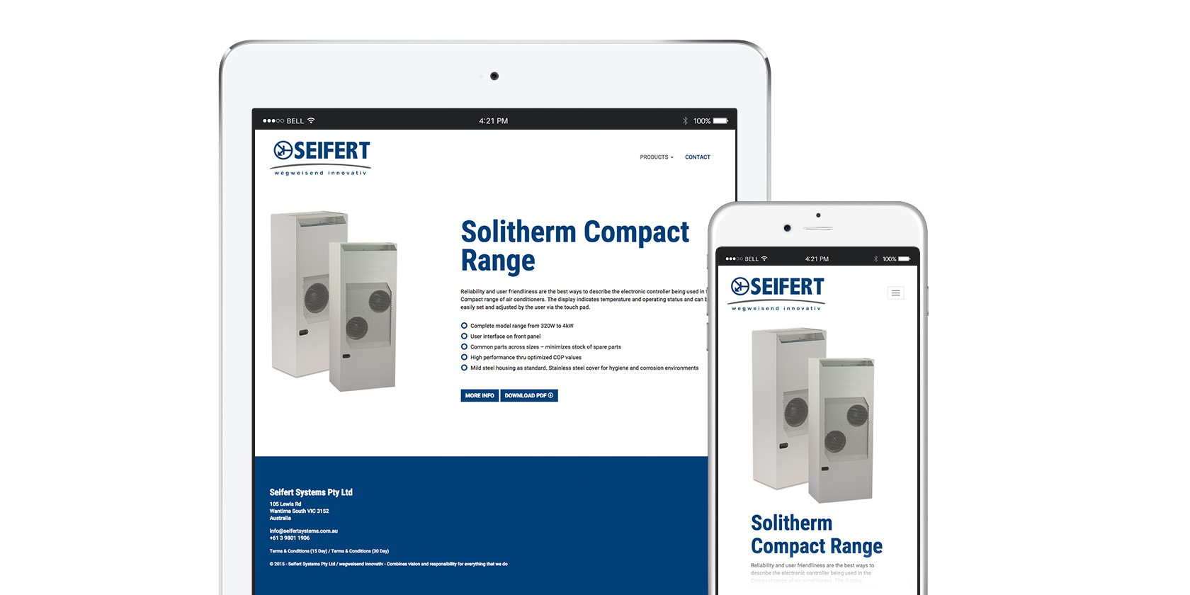 Seifert Systems Website 0